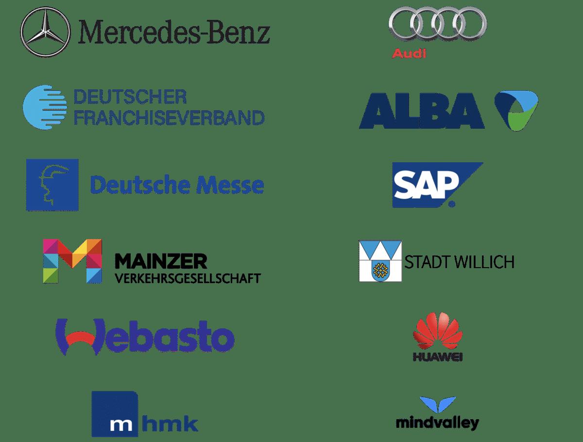 Alex T. Steffen Kunden Logos 2019